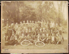 c. 1890 Long Island Wheelmen Photograph Bicycle Club