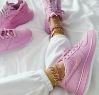 6.5 YOUTH   8 WOMEN'S Nike AF1 Air Force 1 PINK SNEAKERS AR0736 600