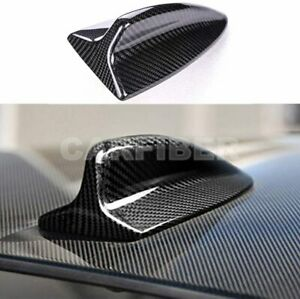 Real Carbon Fiber Shark Fin Antenna Cover For BMW 1 3 Series M3 E82 E46 E90 E92