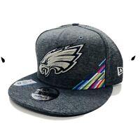 Philadelphia Eagles New Era 2019 NFL Crucial Catch 9FIFTY Snapback Hat Rare
