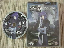 DVD ANIME GHOST IN THE SHELL S.A.C 2ND GIG VOLUMEN 1 LA SERIE USADO BUEN ESTADO