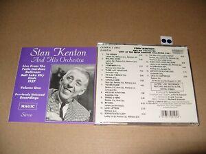 Stan Kenton Live at the Patio Gardens Ballroom, Vol. 1 -1994) cd Mint (L.S.)