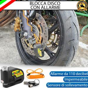 BLOCCA DISCO CON ALLARME 110 DECIBEL ANTI SOLLEVAMENTO PER YAMAHA TRICITY 125
