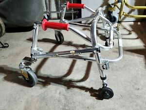 Kaye Posture Control Child's Walker W1/2BR, W1/2BS - 60 Pounds Max Weight Silver