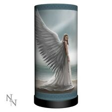 Anne Stokes Angel Spirit Guide Lamp 27cm With Bulb Nemesis Now