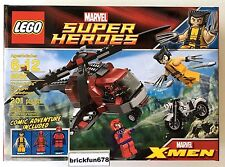 Lego Marvel 6866 Wolverine's Chopper Showdown Deadpool New Factory Sealed Box