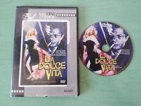 LA DOLCE VITA MASTROIANNI ANOUK AIMEE DVD SLIM CASTELLANO ITALIANO + EXTRAS