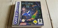 * Nintendo GameBoy * R-Type III Third Lightning * RARE Box and Manual ONLY!! *