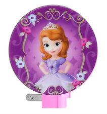 Disney TV SOFIA THE FIRST NIGHT LIGHT Kids Girls Bedroom Bath Nursery Decor Glow