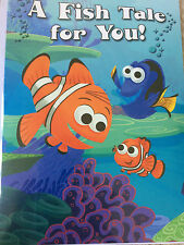 Disney Storybook Finding Nemo A Fish Tale For You! All Occasion Greeting Card