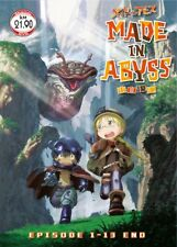 DVD Anime Made In Abyss Complete Series (1-13 End) English Subtitle Region 0