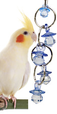 1745 CHANDELIER BIRD TOY parrot cage toys cages african grey conure cockatiel