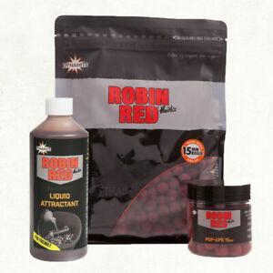 Dynamite Baits Robin Red Pellets Boilies Liquid Groundbait Carp Barbel Fishing