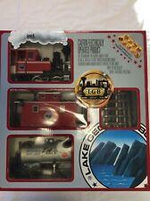 Lehmann LGB THE BIG TRAIN Starter Train Set in Original Box 25401 2117D w/ track