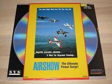 Airshow Ld Laserdisc - The Ultimate Power Surge en Scellé Nouveau Ovp Mint