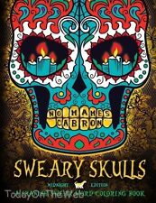 Sweary Skulls: A Spanish Swear Word Adult Coloring Book (In Spanish)