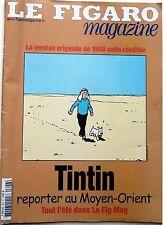 Mag 2004: TINTIN au Moyen-Orient_HERGE_BENJAMIN BIOLAY_JULIEN BOISSELIER