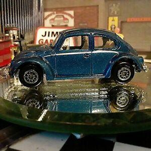Loose-MAISTO Volkswagen VW 1300 Beetle Bug 1:64 Die-cast Blue