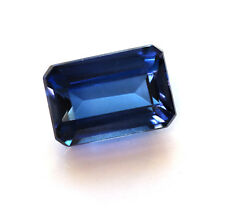 7,80 ct  Saphir de Labo bleu royal