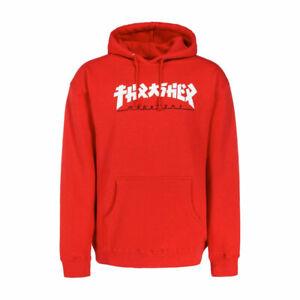 Thrasher Hoody Godzilla (red)