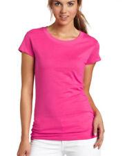 Maglie e camicie da donna rosa aderente fantasia nessuna fantasia