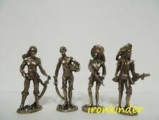 Metallfiguren Ghost Piratа Full Set bronze Ferrero