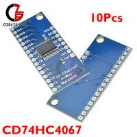 10PCS CD74HC4067 Digital 16-Channel Analog Multiplexer Breakout Board Module