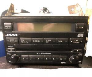 2005 Nissan Pathfinder Radio 6 CD Changer Bose 28185EA420 OEM Preowned