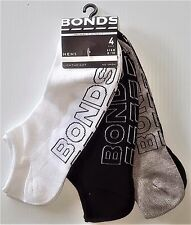 8 PAIRS BRAND NEW LADIES SIZE 6-10 BONDS COTTON NO SHOW ANKLE SPORT SOCKS