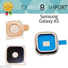 Lente Blanca Embellecedor Camara Trasera Repuesto para Samsung Galaxy A5 a500f