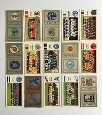 Panini Football 83 Stickers x15 (unstuck with backs/badge) Division 2 (Batch 1)