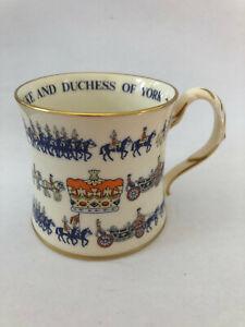 Commemorative Mug: The Marriage of The Duke and Duchess of York, 1986