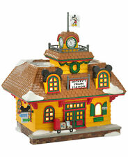 Department 56 Disney Christmas Villiage Mickey's Train Station