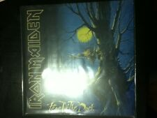 iron maiden fear of the dark 2017 record reissue factory sealed heavy metal