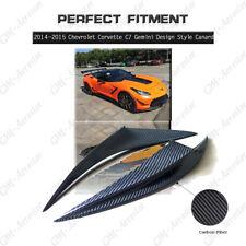 Carbon Fiber Gemini Design Style Canards For 2014-2015 Chevrolet Corvette C7