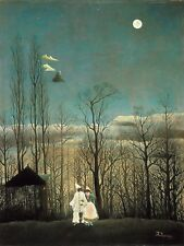PAINTING HENRI ROUSSEAU A CARNIVAL EVENING LARGE WALL ART PRINT POSTER LF2120