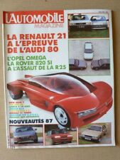 AUTOMOTIVE No 485, Renault 11 Turbo, Porsche 928 S4, 944S, Toyota Land Cruiser