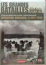 Les Grandes Batailles, Opération Overlord, 6 juin 1944 DVD - Neuf sous Blister
