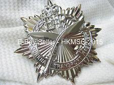 "Large Gurkha Transport Regiment Piper & Officer's Cross Belt Badge. 3"" x 3"""