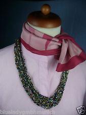 Kette im Ethno Look ✿ Multicolour 70 cm ✿ HALSKETTE Necklace Collier