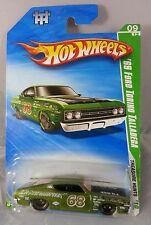 Hot Wheels 2010 Treasure Hunt Super 69 Ford Torino Talladega reddish window