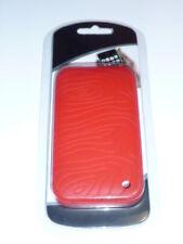 Cover custodia gomma silicone per Iphone I-phone 3G 3GS rossa new