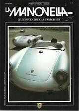 LaManovella  International Ed.Italian Classic Cars And Bikes 1986 Nov./Dec.No.6