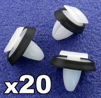 20x Peugeot Boxer Exterior Side Moulding Rub Bumpstrip / Lower Door Trim Clips