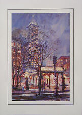 16 Pioneer Square Seattle, Washington Fine Art Blank Note Cards Marshall Johnson