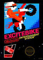 Excitebike (Nintendo Entertainment System, 1985) CARTRIDGE ONLY
