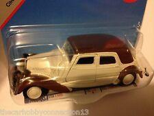 Siku Citroen 15CV Traction Avant Brown/Creme Scale 1:55 Diecast Model Car