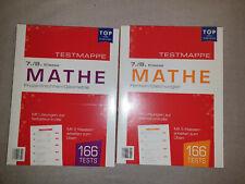 2 versch. Schülerhilfe Testmappe Mathe 7/8. Klasse Neu