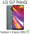 LG G7 ThinQ G710U Gray Straight Talk TracFone Page Plus Verizon Unlocked   photo