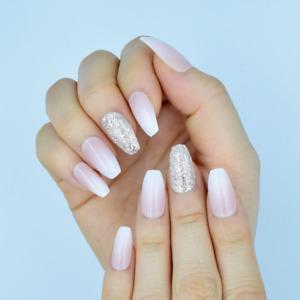 False Fake Nails French Manicure Short / Medium / Long ACRYLIC NEW  Tips Glue